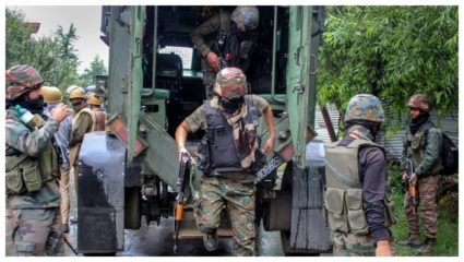 Terrorists attack security forces in Jammu and Kashmir's Shopian