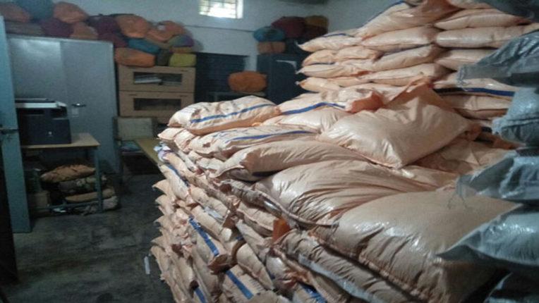 22 lakh rice seized, MIDC warehouse raided