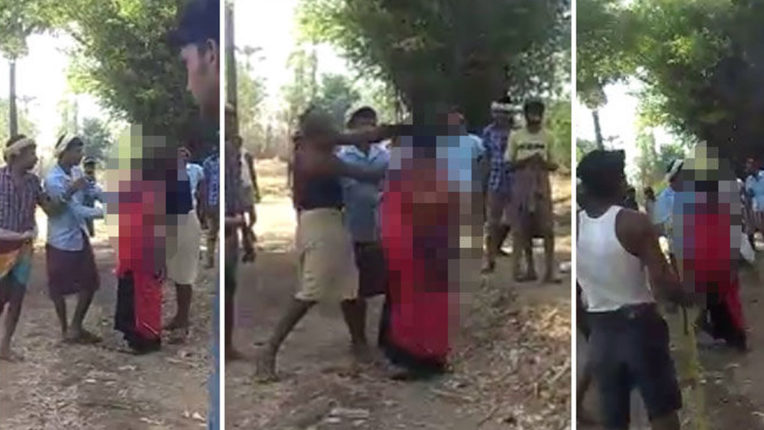 A minor girl was beaten up badly in Gujarat; The video went viral