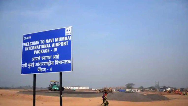 नवी मुंबई एयरपोर्ट क्षेत्र में ध्वस्त हुई पुरातन बुद्ध गुफा