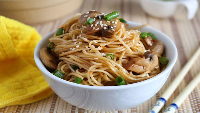 Saturday Special: Let's make mushroom noodles