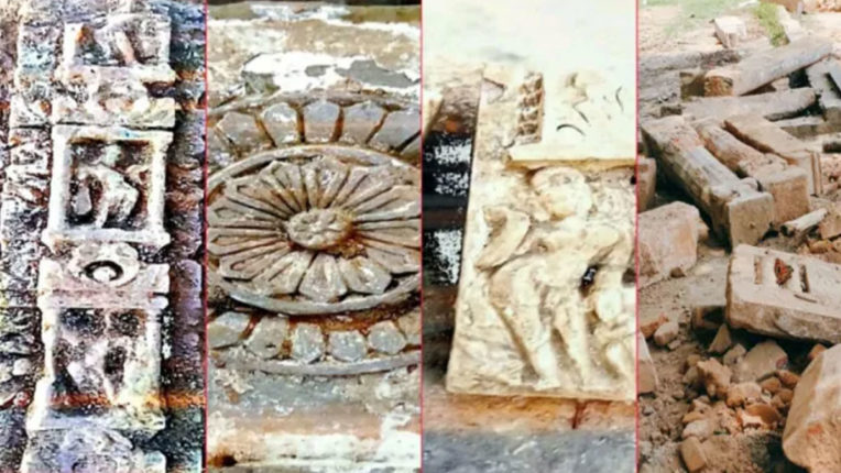 Shivling, statues found while leveling site fixed for Ram temple: Trust