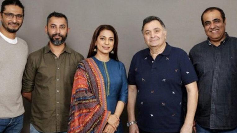 Rishi Kapoor will soon be seen again with 'Sharmaji Namkeen'!