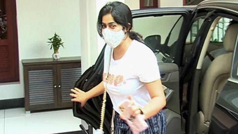 Actress Shamna Kasim