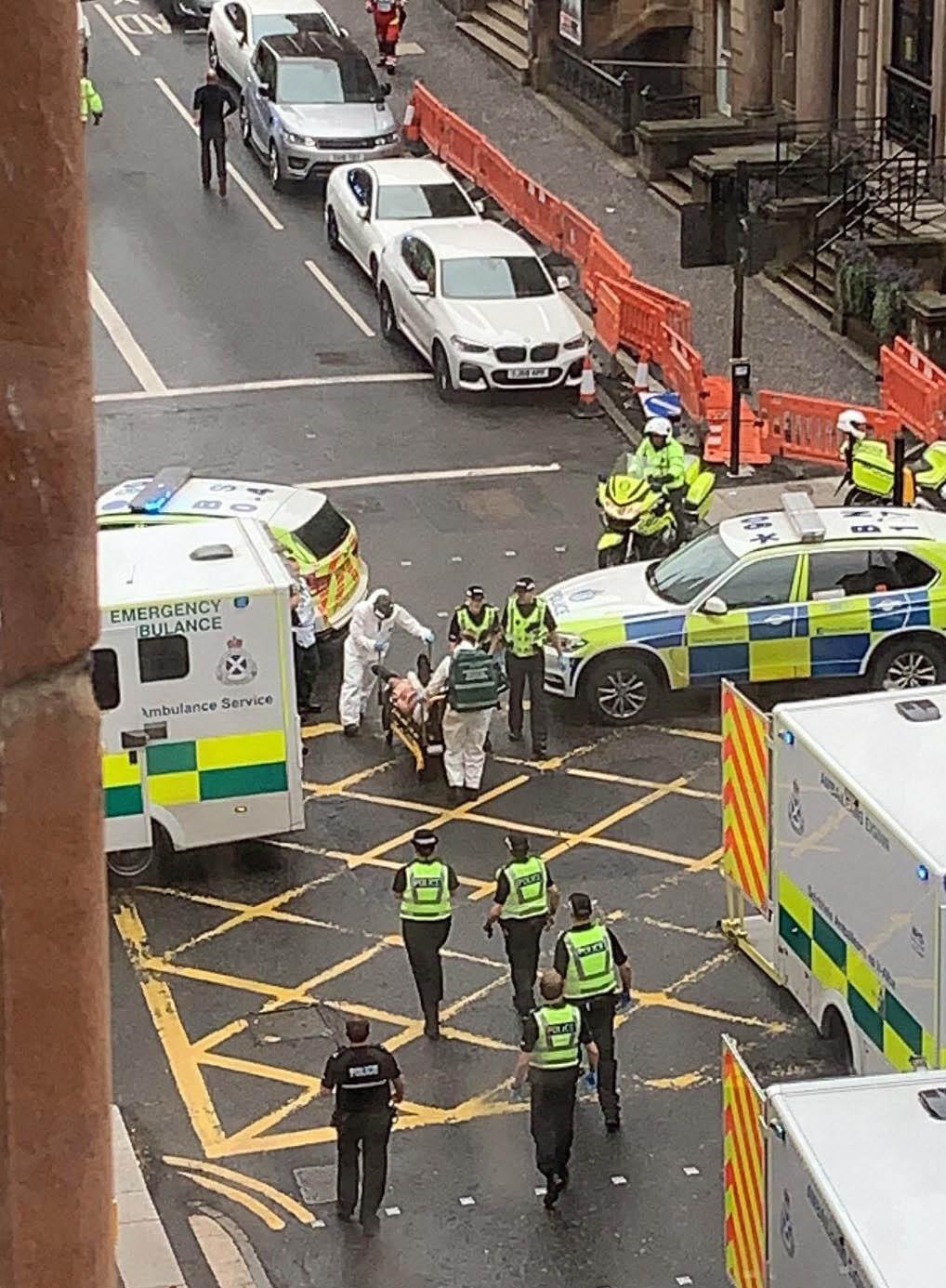 Glasgow Knife Attack
