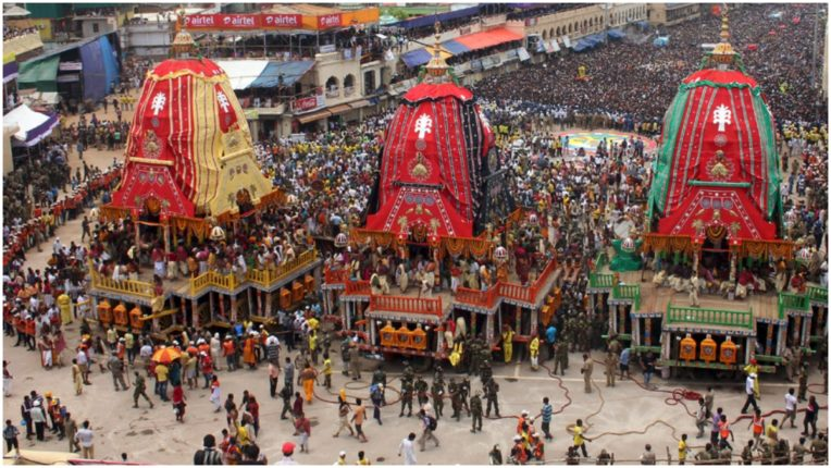 Curfew will remain in Puri for two days during Rath Yatra return festival