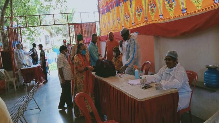 नालासोपारा में स्वास्थ्य परीक्षण शिविर