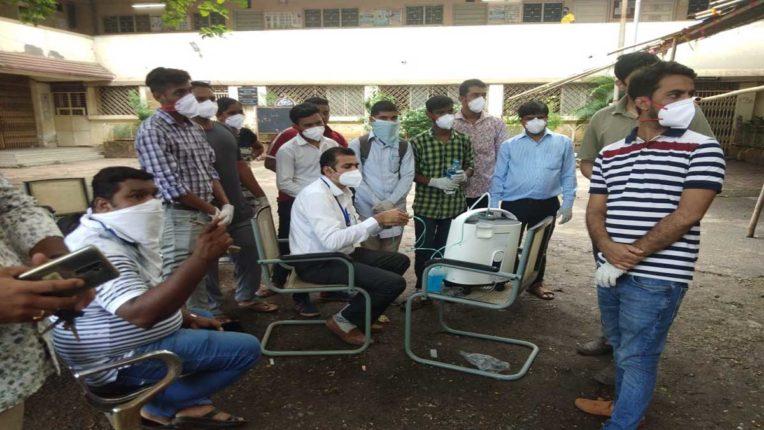 मनपा ने खरीदी 20 इलेक्ट्रिक ऑक्सीजन मशीनें