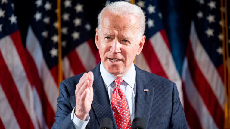 Trump's attempts to deal with Corona are 'wavering' like his presidency: Biden