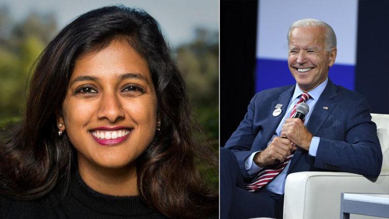 जो बाइडेन ने भारतीय-अमेरिकी विशेषज्ञ को डिजिटल चीफ ऑफ स्टाफ नामित किया