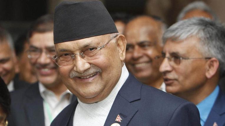 Nepal PM Oli