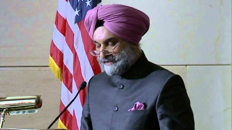 Corona epidemic could not stop India from economic reforms: Sandhu