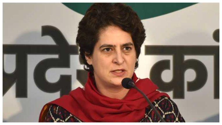 कांग्रेस नेता को पुलिस ने किया गिरफ्तार : प्रियंका गांधी ने की निंदा