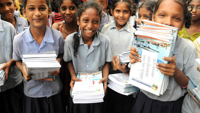 4.50 lakh textbooks distributed, 1 lakh students provided at home