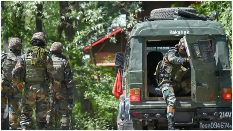 Three terrorists killed in an encounter in Anantnag