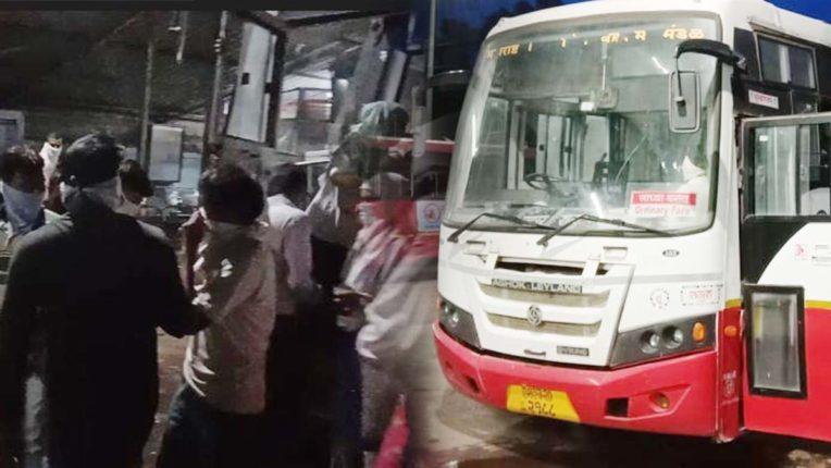 बस फेरियों के चलते यात्रियों के हाल बेहाल – यात्रियों ने बस स्टैंड पर किया हंगामा