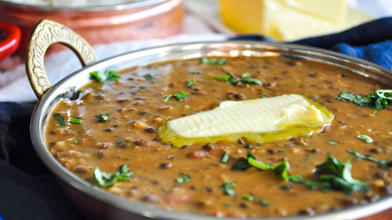 Today's special recipe Dal Makhani