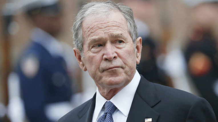 Country to make collective efforts for equal justice: George W. Bush