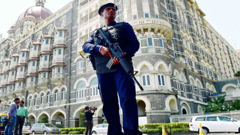Security of Taj Hotel in Mumbai increased due to attack on Karachi Stock Exchange: Police