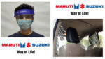 Kovid-19 epidemic: Maruti made masks, gloves and other products for customers