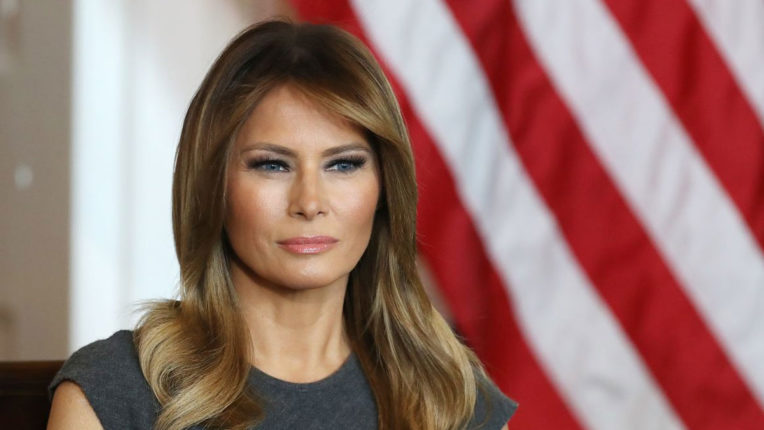 America's First Lady Melania Trump appeals for peace