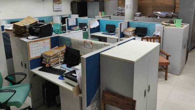 Lakhs of dust are building, awaiting the launch of Revenue Board Office for 3 years