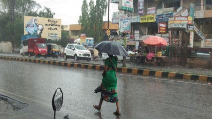 105 perennial rains, still humid, the district still has an average rainfall of 466.8 mm