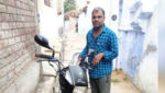 The thief traveled 200 km on a stolen bike, later sent back to the owner by courier