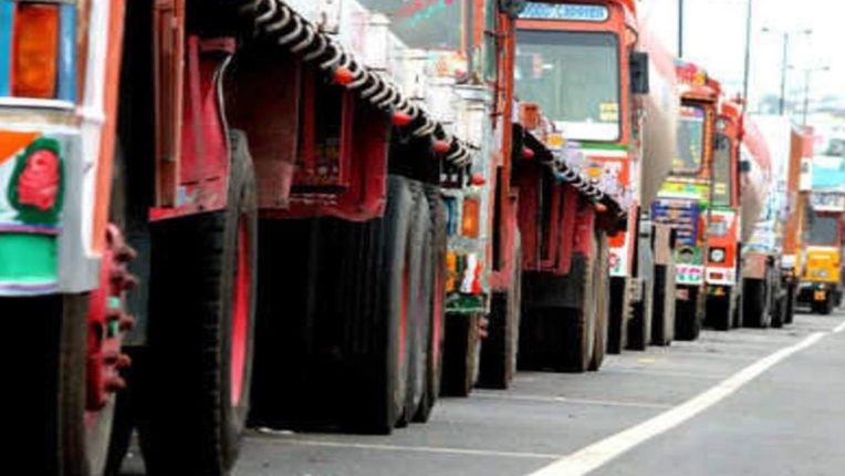 "Declaration of Transporters of Indore, ""Chinese companies stop transporting goods"""