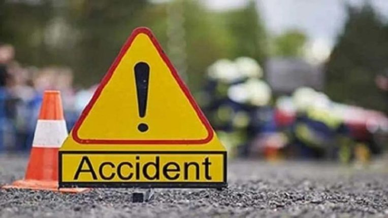 Bus car collision: five passengers killed, 25 injured