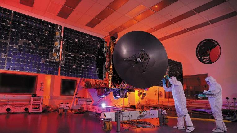 मंगल के लिए प्रक्षेपण के बाद सही काम कर रहा है यान:  UAE