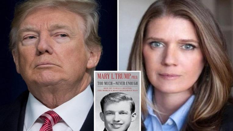 न्यायाधीश ने डोनाल्ड ट्रंप की भतीजी की किताब के प्रकाशन पर लगाई अस्थायी रोक
