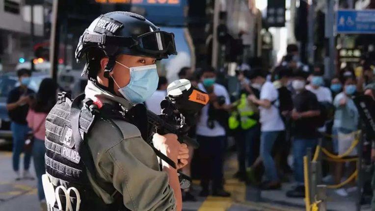 सुरक्षा कानून के तहत हांगकांग पुलिस को व्यापक अधिकार मिले