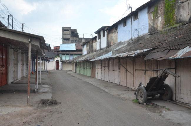 घोषित कर्फ्यू से प्रशासन ने किया किनारा