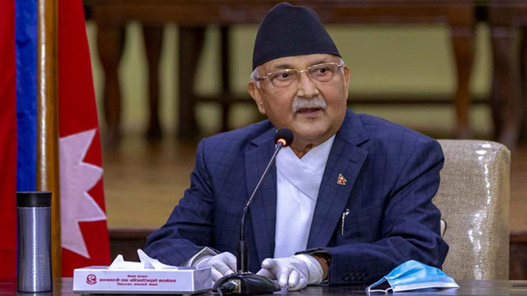 Major reshuffle in Nepal cabinet, Prime Minister Oli retained the Ministry of Defense