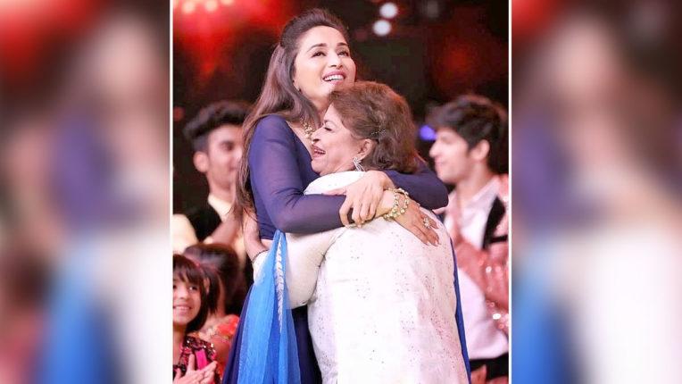 Madhuri Dixit paid tribute to Saroj Khan on Guru Purnima