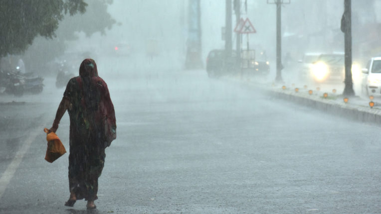 268.3 mm rain so far in district, Melghat lowest