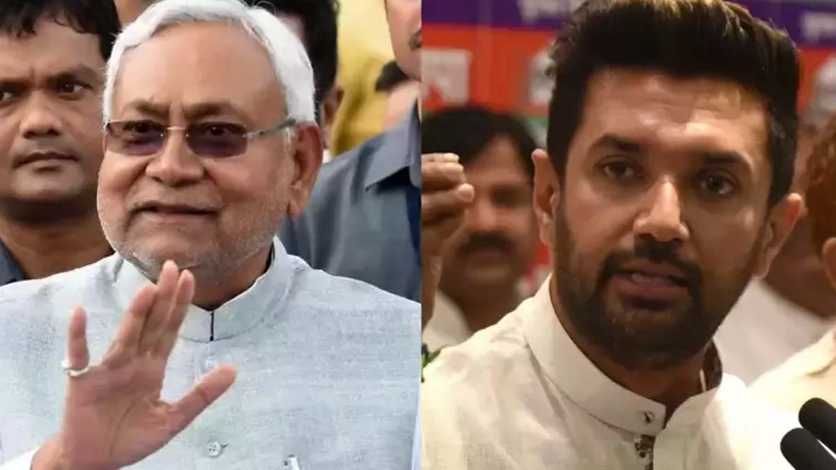 Nitish Kumar and Chirag Paswan