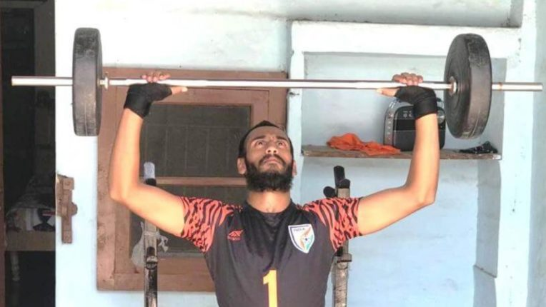 Prabhasukhan Gill built gym at home to stay fit