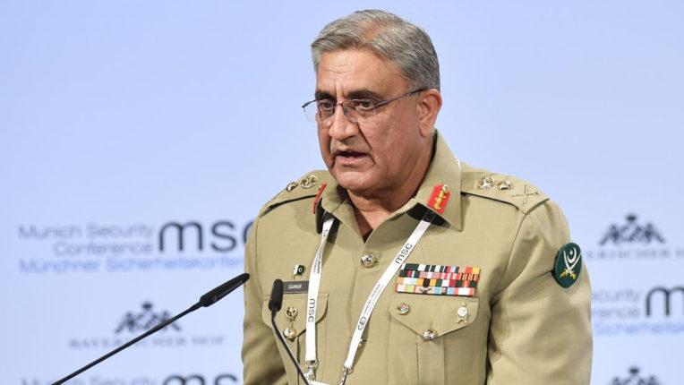 पाकिस्तानी सेना की सभी कार्रवाई संविधान से निर्देशित : जनरल बाजवा