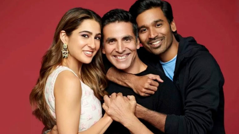 Sara Ali Khan, Dhanush and Akshay Kumar will start shooting for 'Atrangi Ray' from October