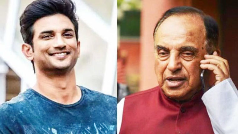 sushant-singh-rajput-case-subramanian-swamy-told-why-mumbai-police-did-not-register-fir-till-now
