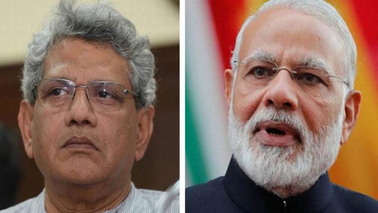 ICMR and Modi doing politics behind developing Corona vaccine: Yechury