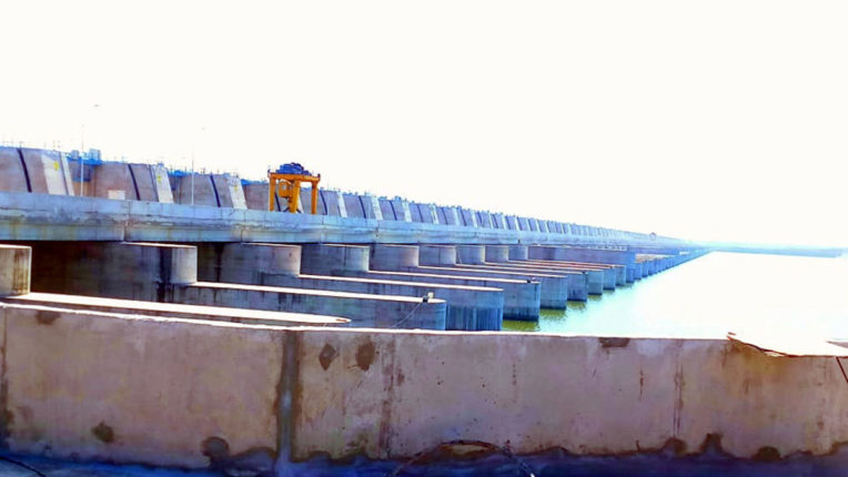 Medigatta dam suffers heavy losses, disrupters still await compensation