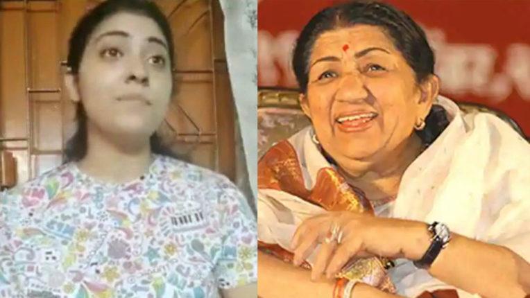 lata-mangeshkar-shared-video-of-girl-who-singing-symphony-g-minor-in-india-sargam