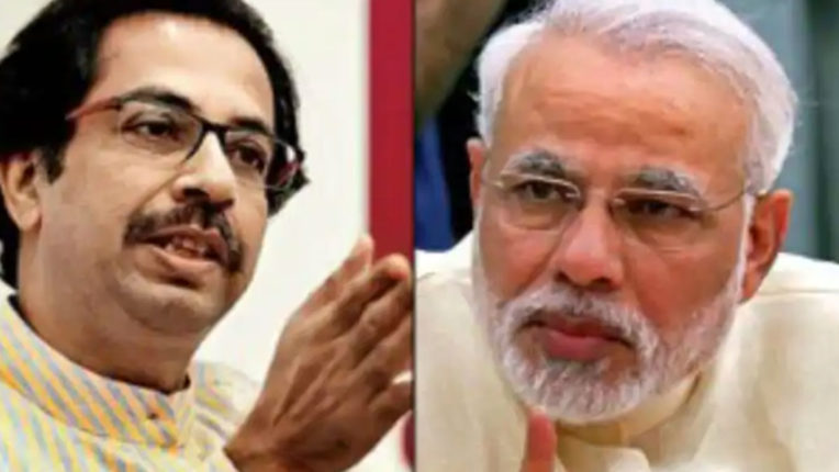 Shiv Sena targets Modi, says 100 days but Corona is there