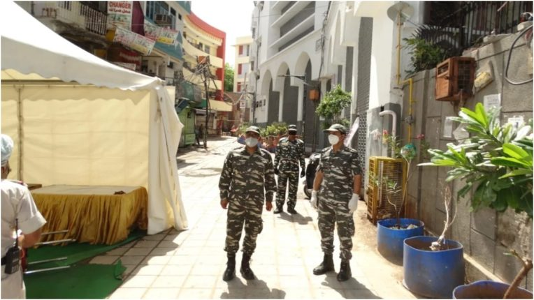 60 more CRPF jawans infected with corona virus in Gwalior