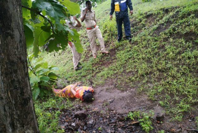 जंगल में पत्नी की निर्मम हत्या, आरोपी पति ने किया आत्मसर्मपण