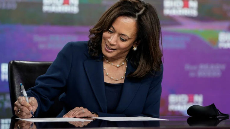 Kamala Harris created history by accepting candidacy for Vice President