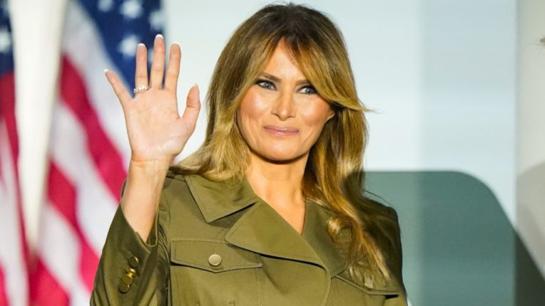 Trump is campaigning after recovery from Corona, Melania not yet publicly revealed